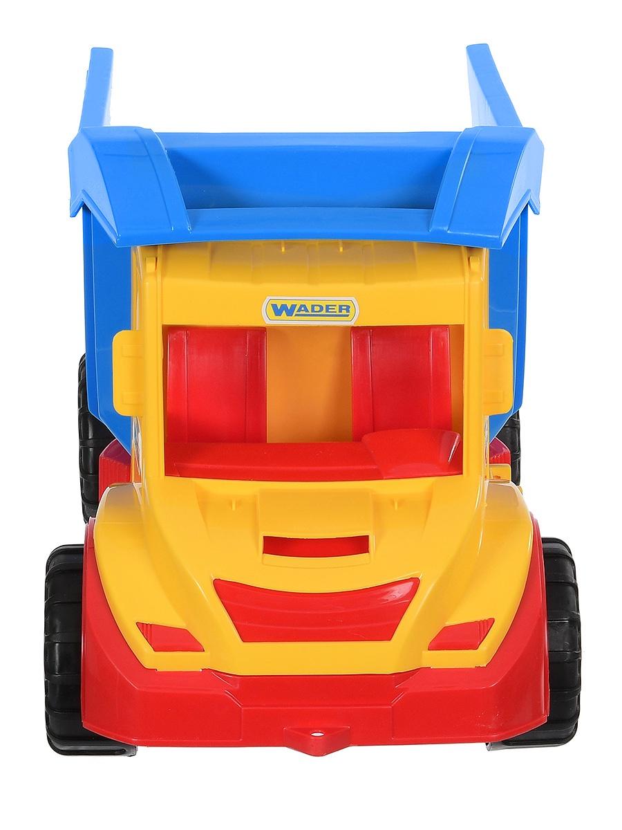 Спецтехника Wader Грузовик Multi Truck желтый игрушка тигрес multi truck грузовик с кеглями 39220
