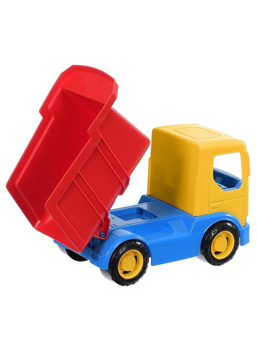 Фото - Спецтехника Wader Tech Truck Самосвал желтый бетономешалка wader super truck разноцветный 58 5 см 36590