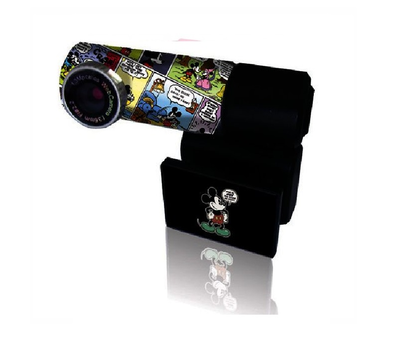 Web-камера Disnep DSY-WC302, черный web камера qumo wcq 107