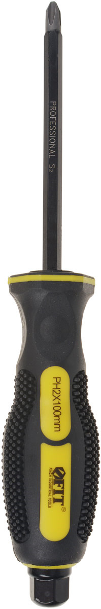Отвертка крестовая FIT, ударная, РН2 x 100 мм
