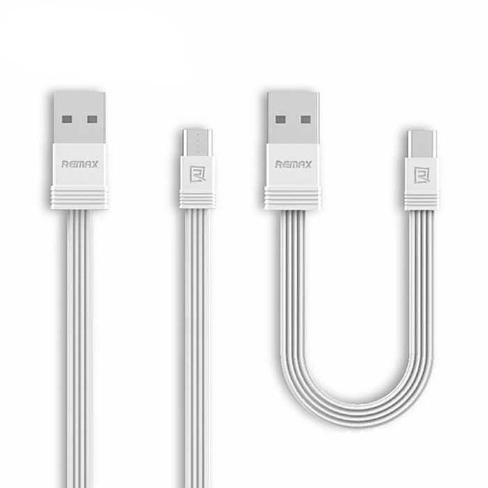 Кабель REMAX Tengy Series Data Cable RC-062m - Micro USB, белый micro usb male to usb 2 0 male data sync
