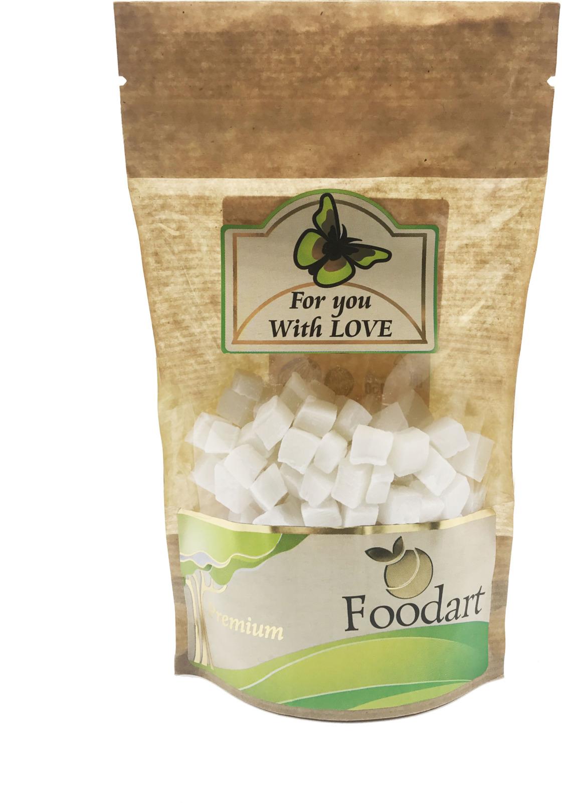 Кокос кубики Foodart, 100 г