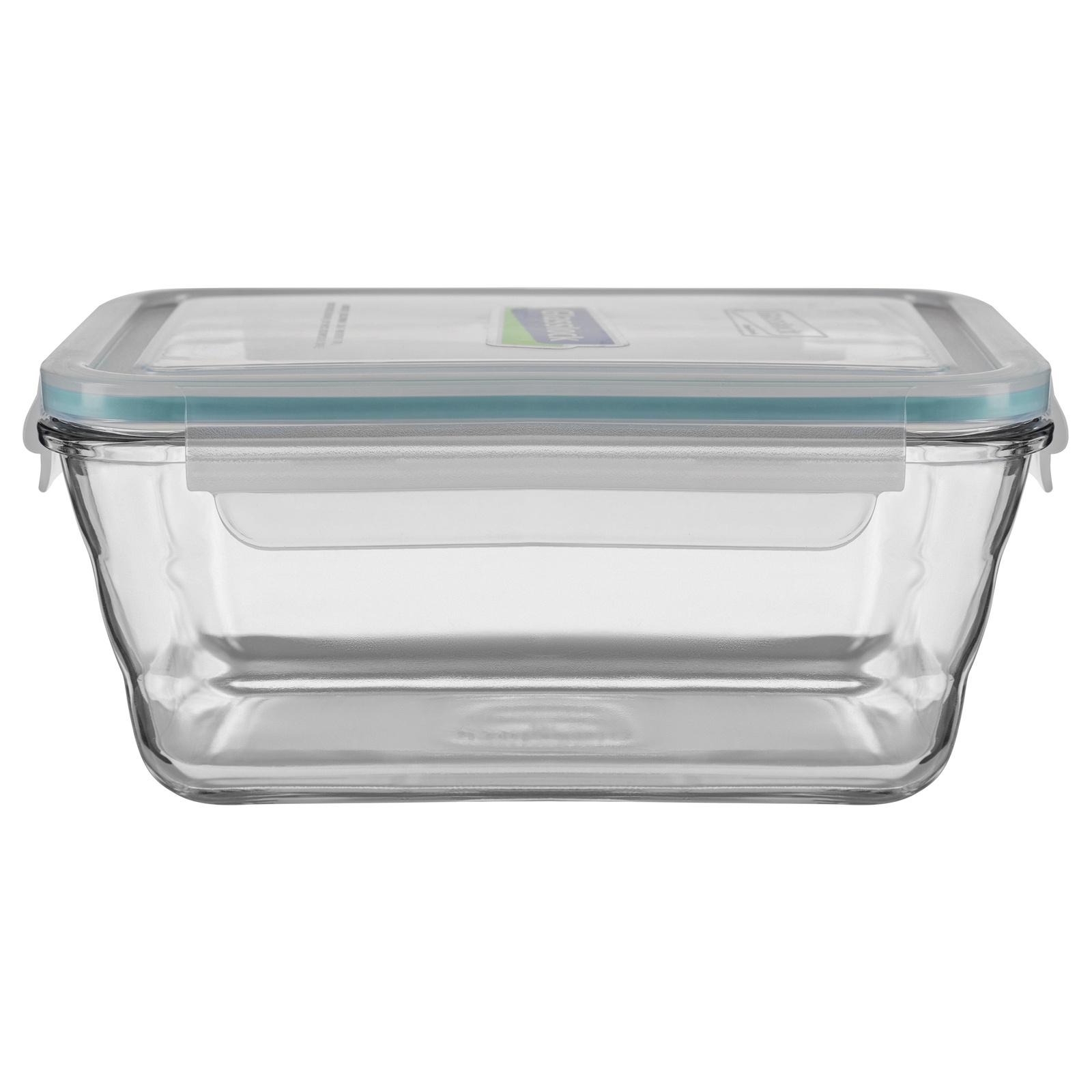 Контейнер пищевой Glasslock OCRT-090, прозрачный контейнер прямоугольный 1 73 л glasslock ocrt 173a