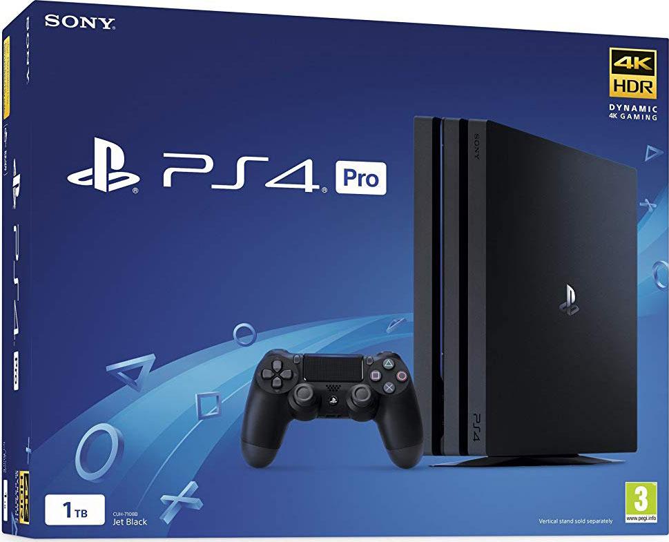 Игровая приставка Sony PlayStation 4 Pro (1 TB), Black (CUH-7208В)