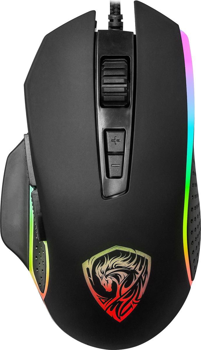 Игровая мышь Qumo Pantheon M50, черный
