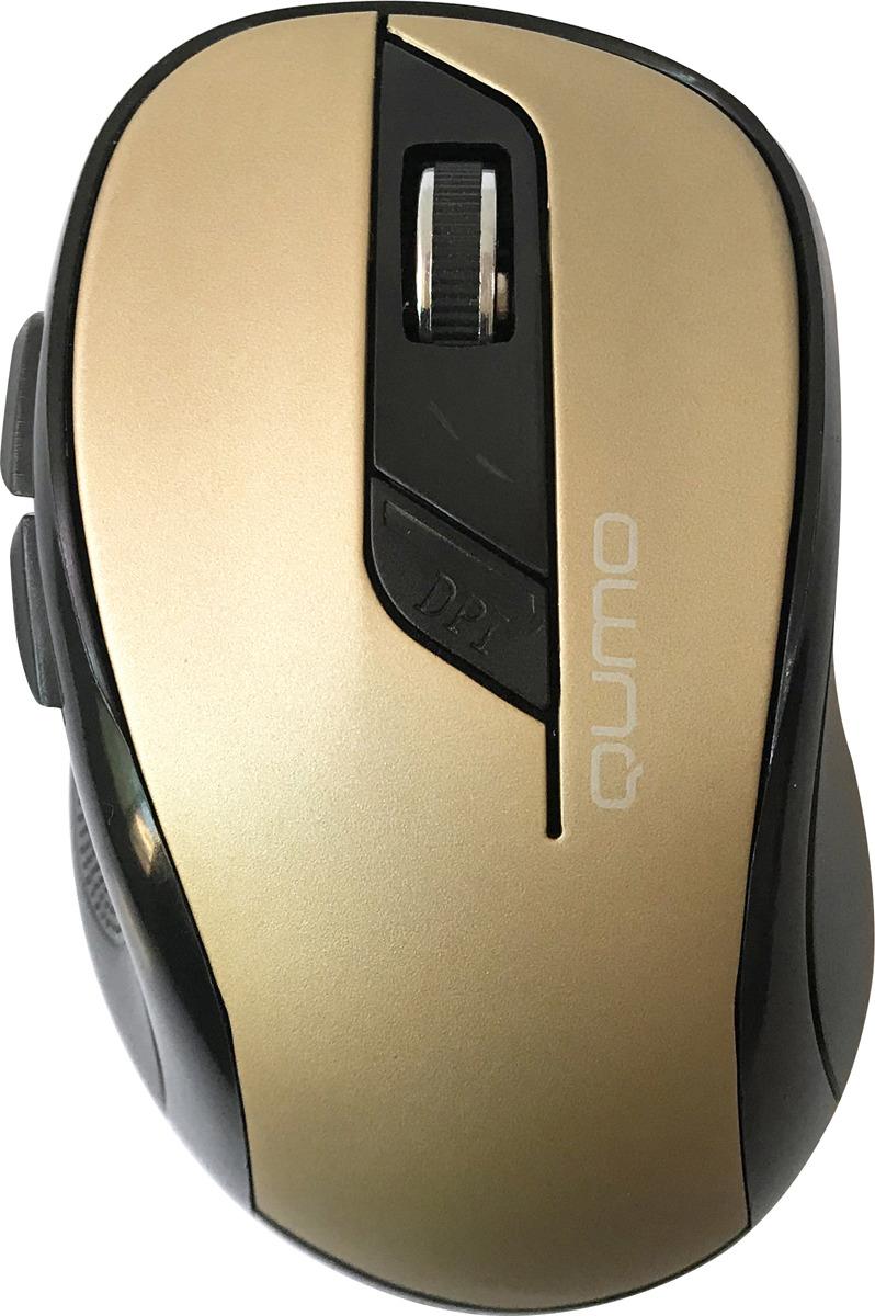 Мышь Qumo Office Line Bronze M64, бронза, черный