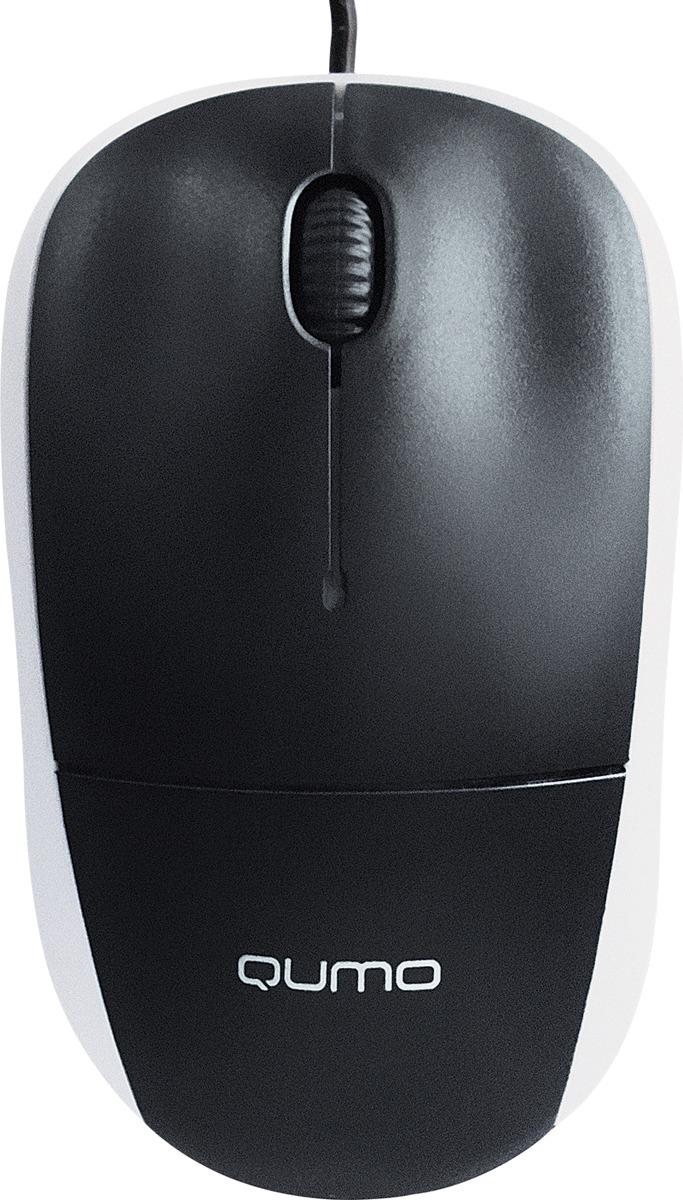 лучшая цена Мышь Qumo Office Collage M65, черный, серый