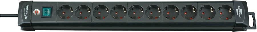 Удлинитель кабеля Brennenstuhl 1951100110 удлинитель Premium-Line 3 м., черный, черный