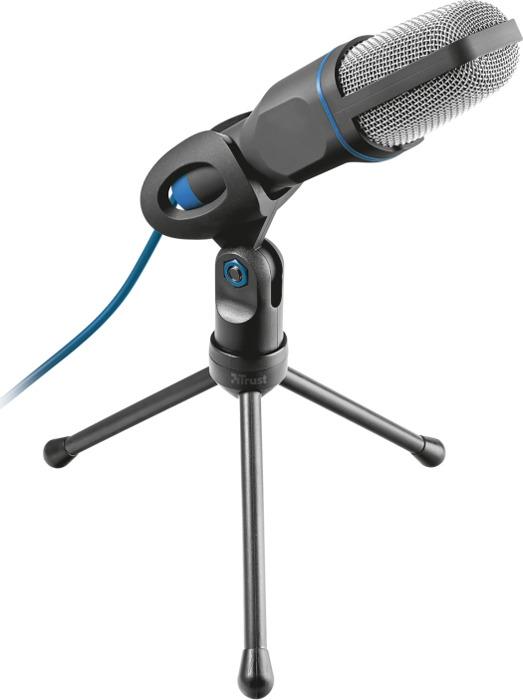 Стрим микрофон 20378 Trust MICO USB подставка