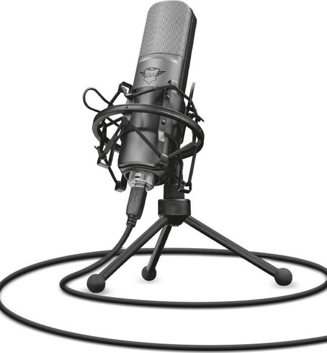 Игровой стрим микрофон 22614 Trust LANCE GXT 242
