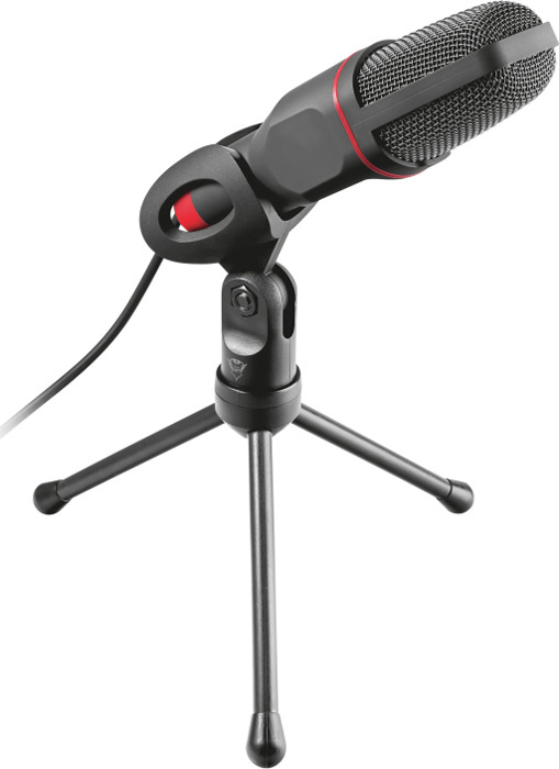 Игровой стрим микрофон Trust GXT 212, 22191, черный