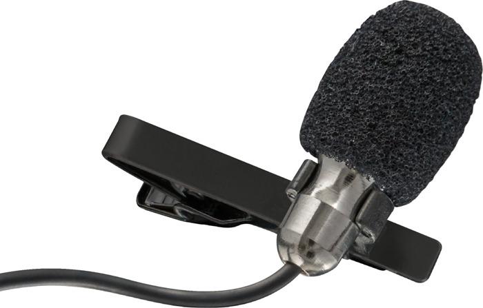 Стрим микрофон Trust Lava Clip-on петличный USB 3.5 мм, 22487, черный