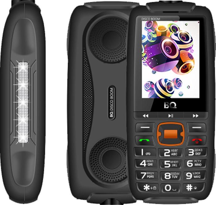 Мобильный телефон BQ 2825 Disco Boom, черный телефон мобильный bq boom l