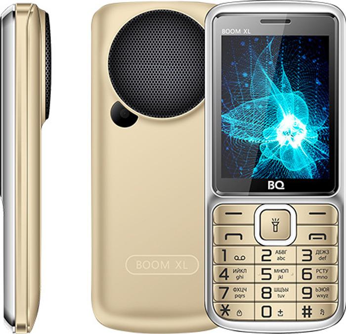 Мобильный телефон BQ 2810 Boom XL, золотой сотовый телефон bq 2810 boom xl black