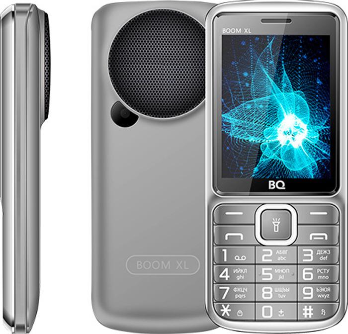 Мобильный телефон BQ 2810 Boom XL, серый сотовый телефон bq 2810 boom xl black