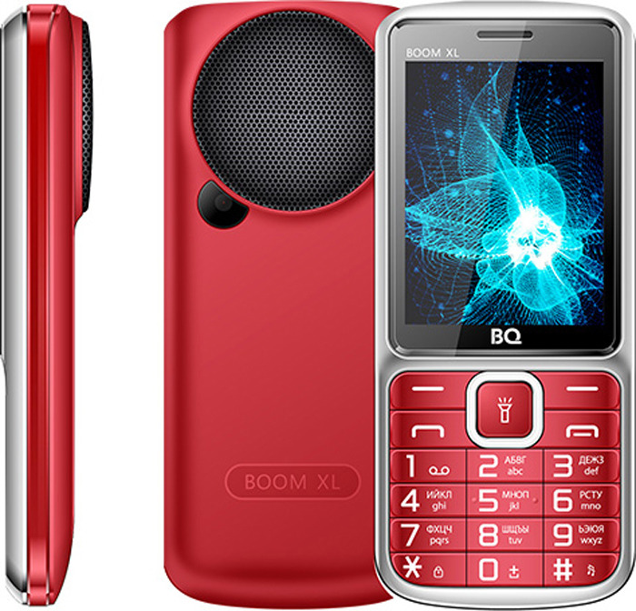 Фото - Мобильный телефон BQ 2810 Boom XL, красный сотовый телефон bq 2810 boom xl black