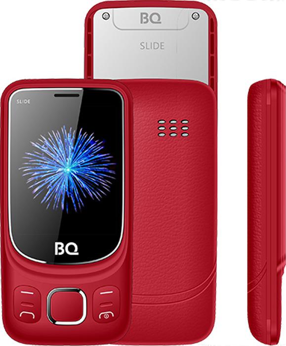 Мобильный телефон BQ 2435 Slide, красный цены