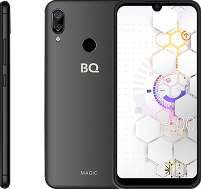 Смартфон BQ 6040L Magic 2/32GB black смартфон bq bqs 5011 monte carlo black