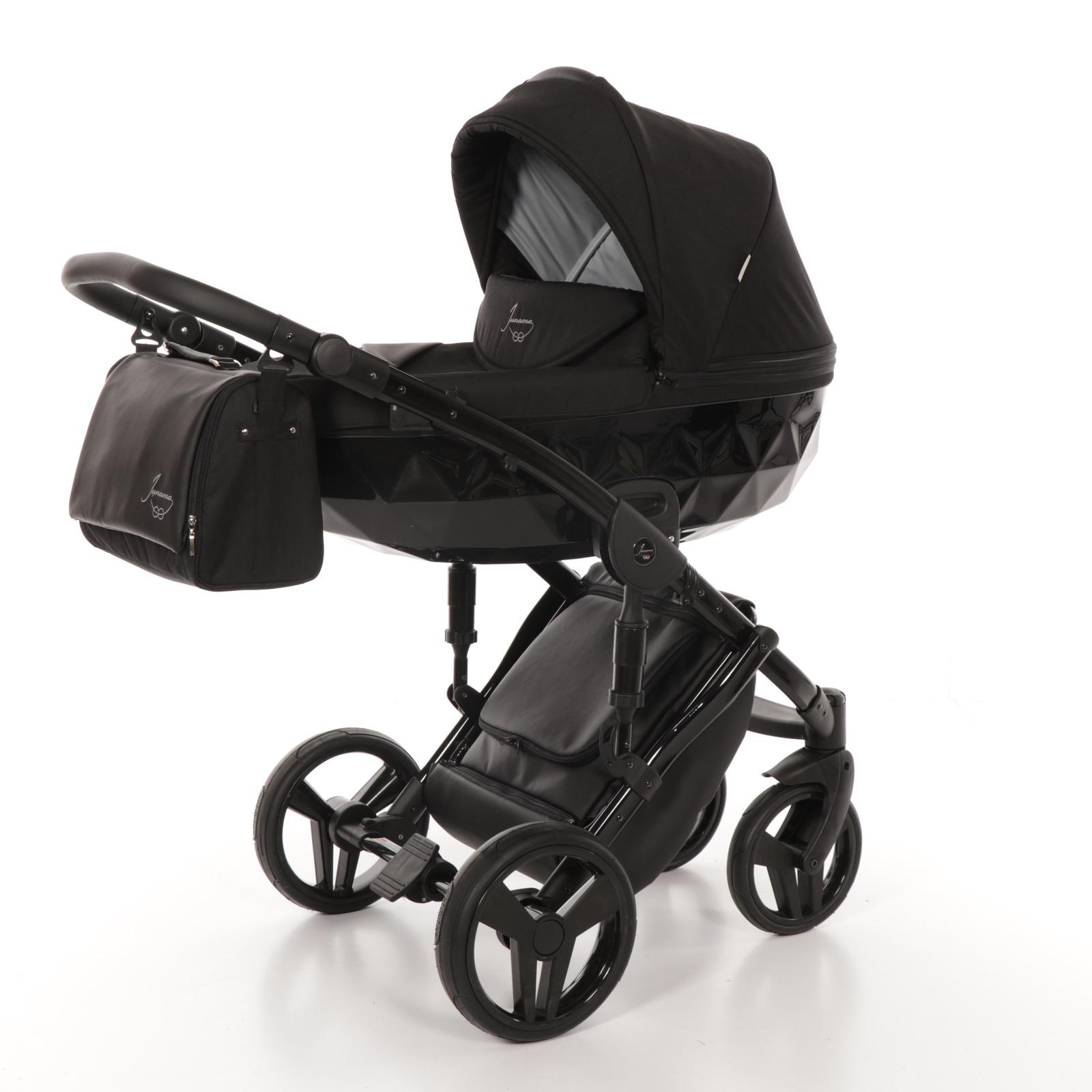 Коляска универсальная JUNAMA JD-05 черный детская коляска 2 в 1 junama diamond jd 02 желтый черный короб