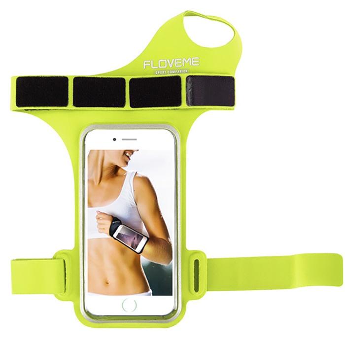 Чехол для сотового телефона Floveme FL47W-GRN, зеленый недорого