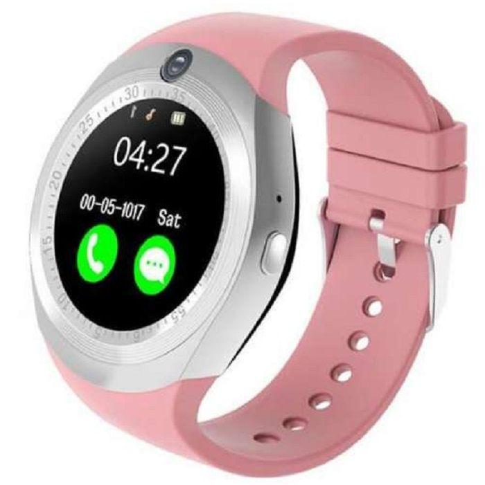 Умные часы No Name Y1, розовый цены