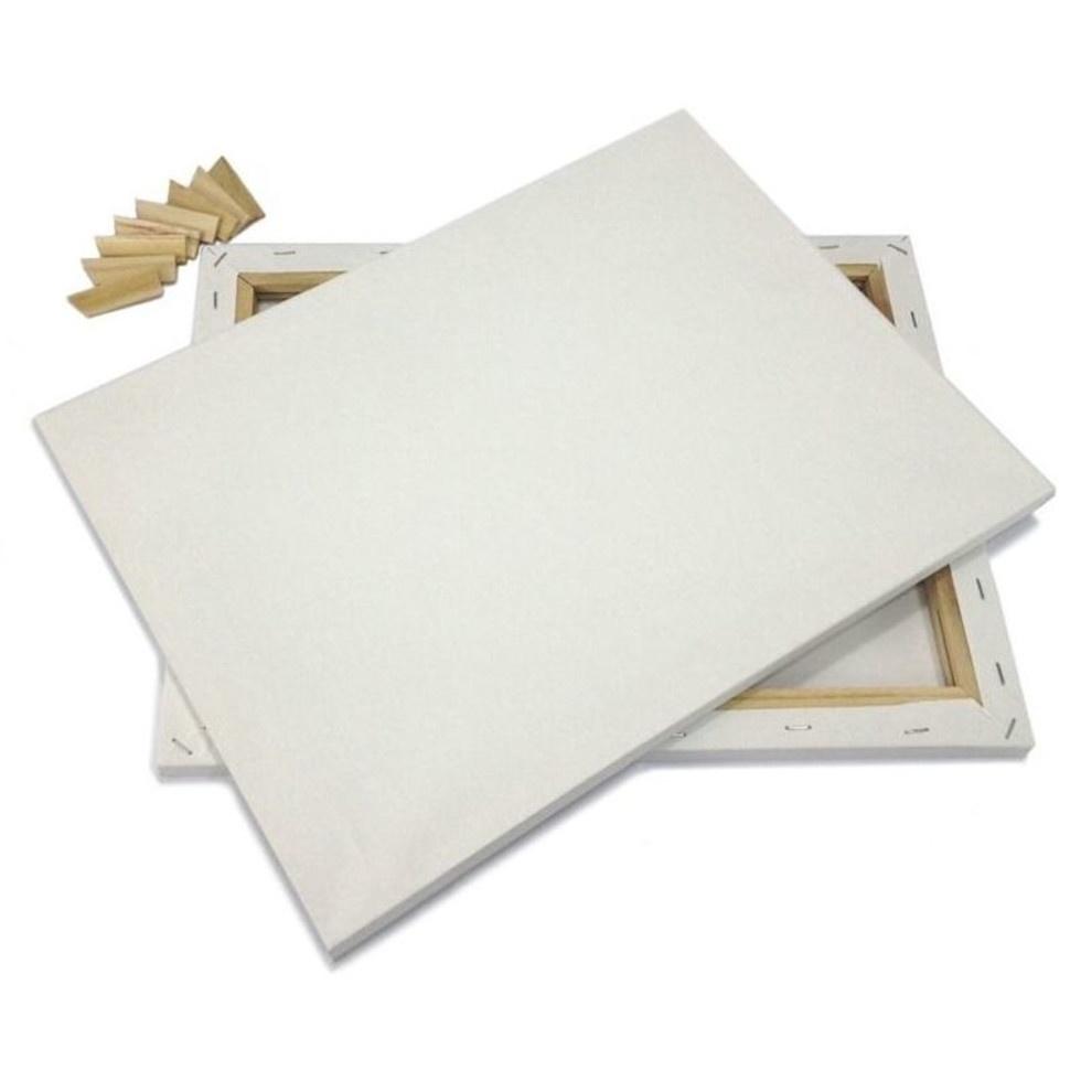Холст Рисуй на кураже на подрамнике грунтованный 50x90