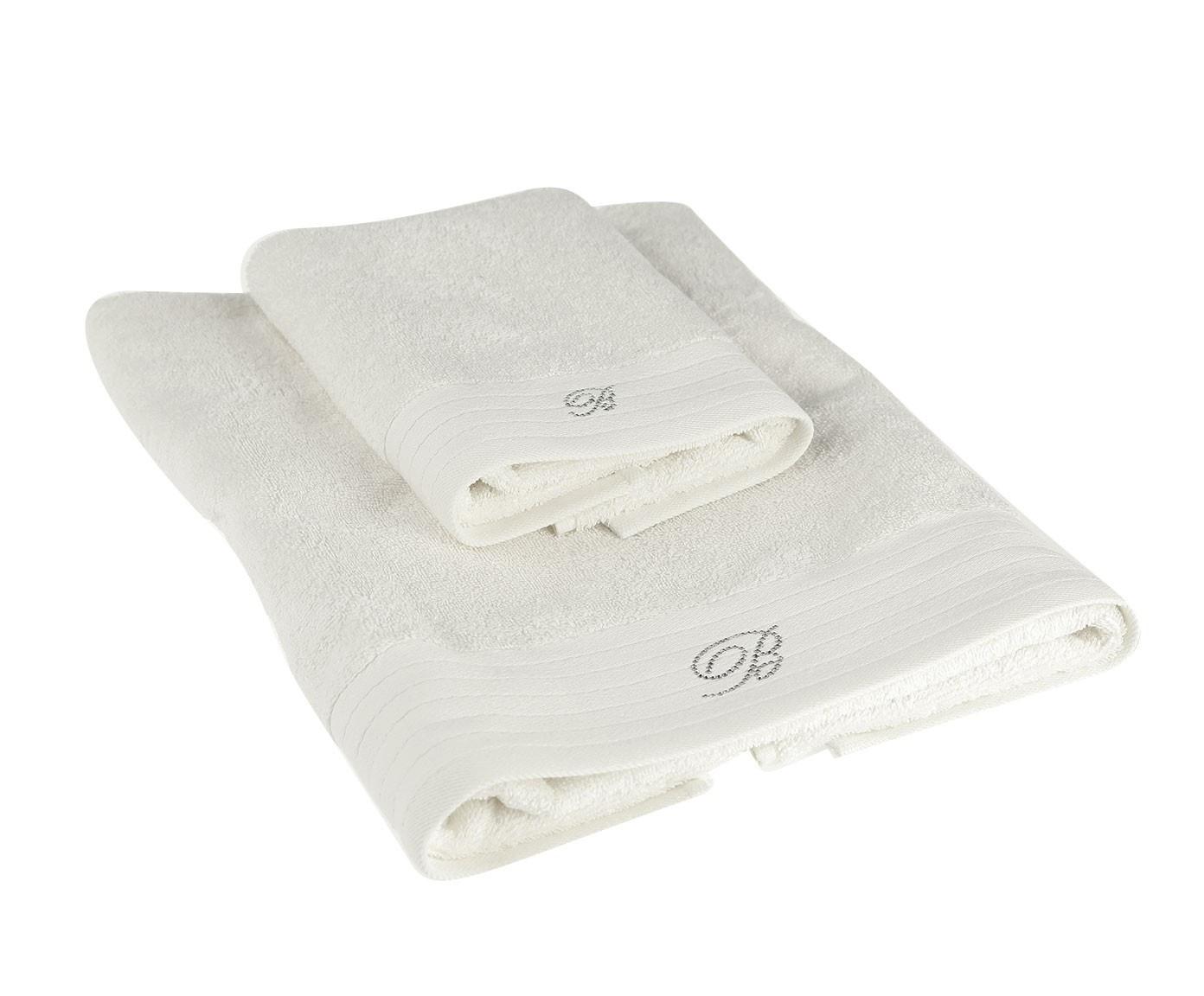 Набор банных полотенец Blumarine 1423103, белый набор банных полотенец blumarine dustin white белый