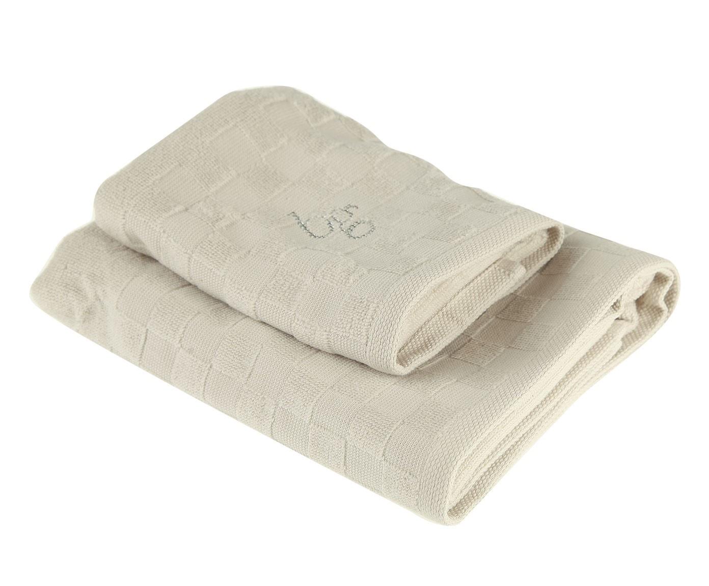 Набор банных полотенец Blumarine 1423705, серый набор банных полотенец blumarine dustin white белый