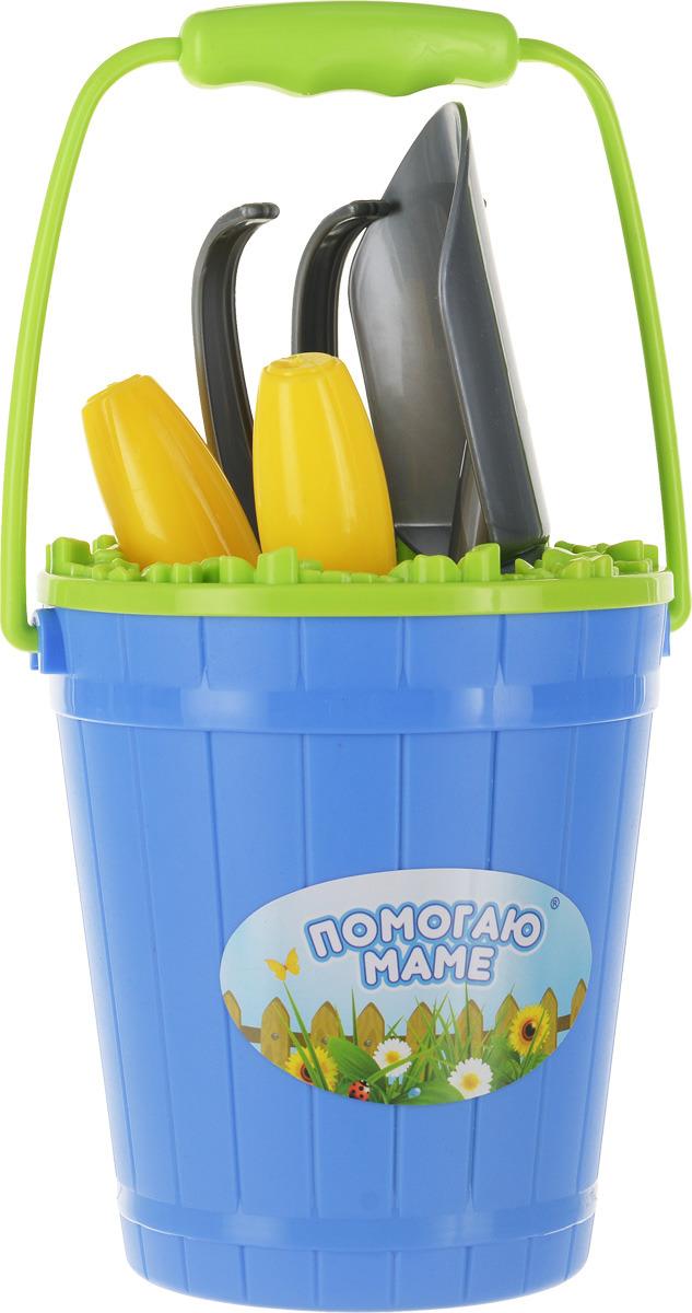 ABtoys Набор для юного садовода Помогаю Маме 10 предметов помогаю маме набор посуды для чаепития 14 предметов