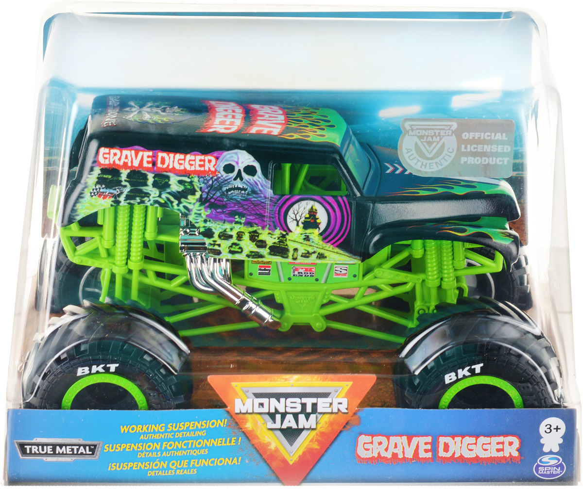 Машинка Monster Jam Cast Collector World Grave Digger, 6044869_20109063