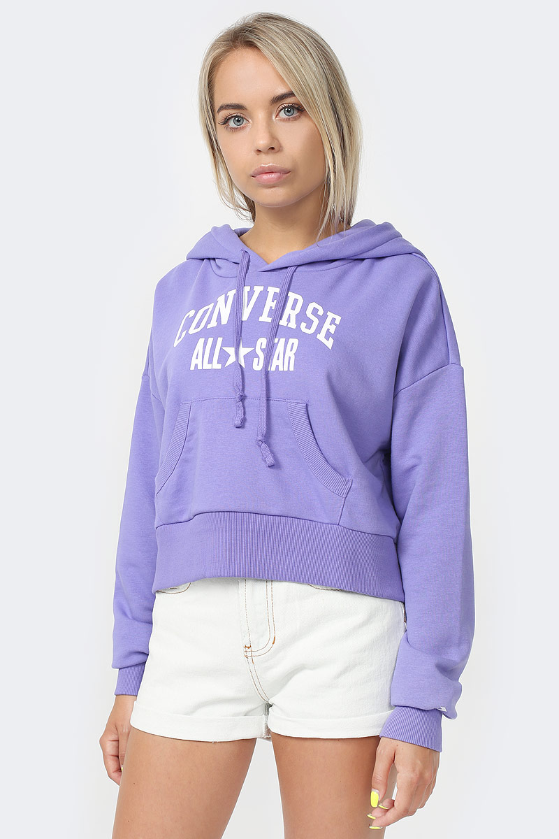 Худи Converse All Star Pullover Hoodie tiger print pullover hoodie