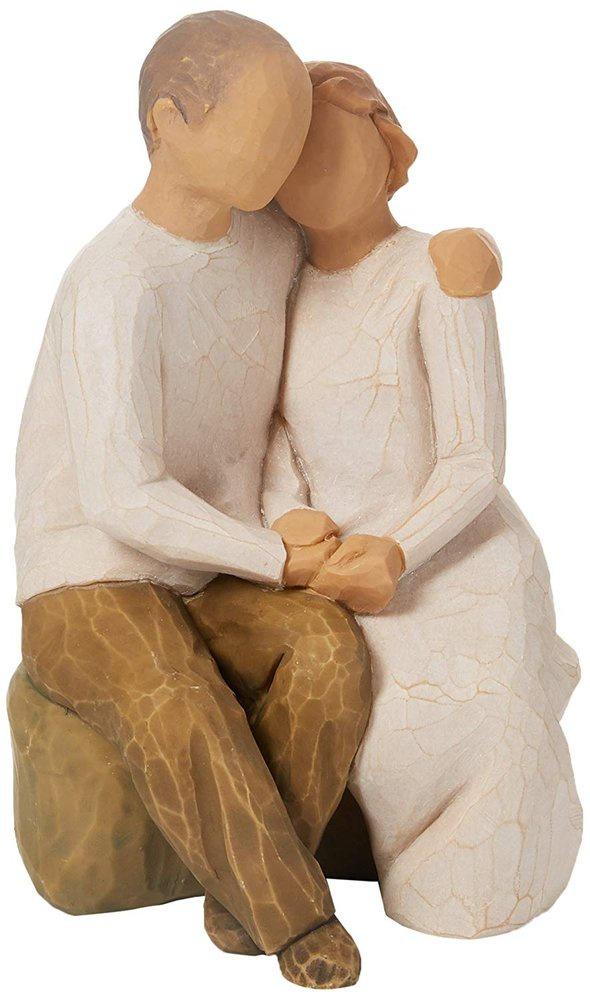 Фигурка декоративная Willow Tree Anniversary, Искусственный камень статуэтки 3d