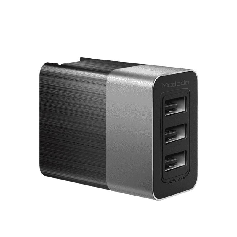 Зарядное устройство Mcdodo CH-5341, черный usb hub desktop phone charger 6 ports 6a adapter multi port usb wall us plug