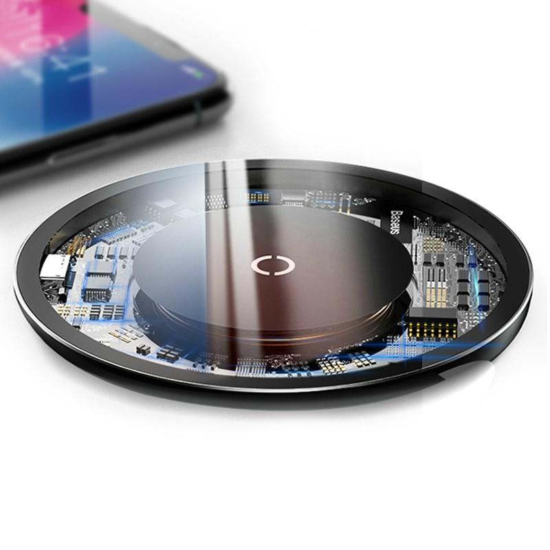 Беспроводное зарядное устройство Baseus c249485b-81e5-4ad3-b418-f62dd6f157b6, прозрачный