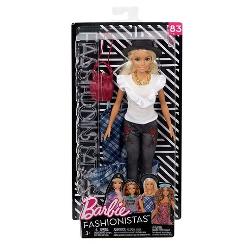 Кукла Mattel Barbie Fashionistas Игра с модой original many styles for choose colorful assorted casual high heel shoes boots for barbie doll fashion cute newest