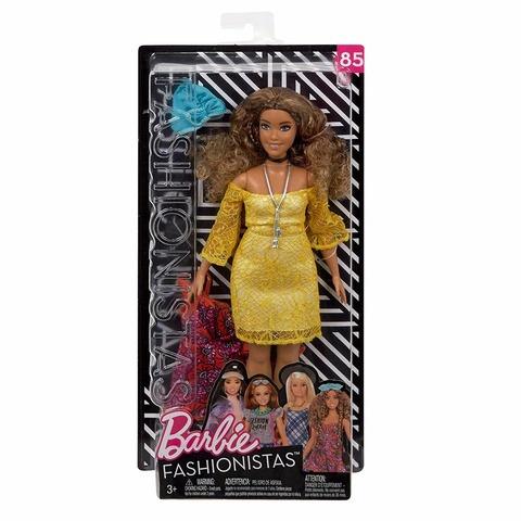 Кукла Mattel Барби Fashionistas Игра с модой с одеждой