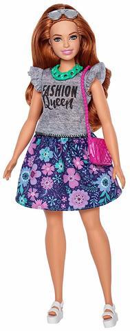 Кукла Mattel Барби Fashionistas Игра с модой Делюкс