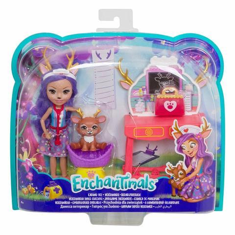 Кукла Mattel Enchantimals Данесса Ветеринар