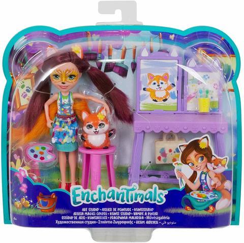 Кукла Mattel Enchantimals Художественная студия