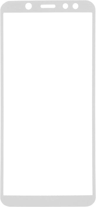 Защитное стекло GOSSO CASES для Samsung Galaxy A6 (2018) Full Screen 5D White, белый