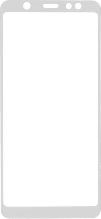 Защитное стекло GOSSO CASES для Samsung Galaxy A6+ (2018) Full Screen 5D White, белый