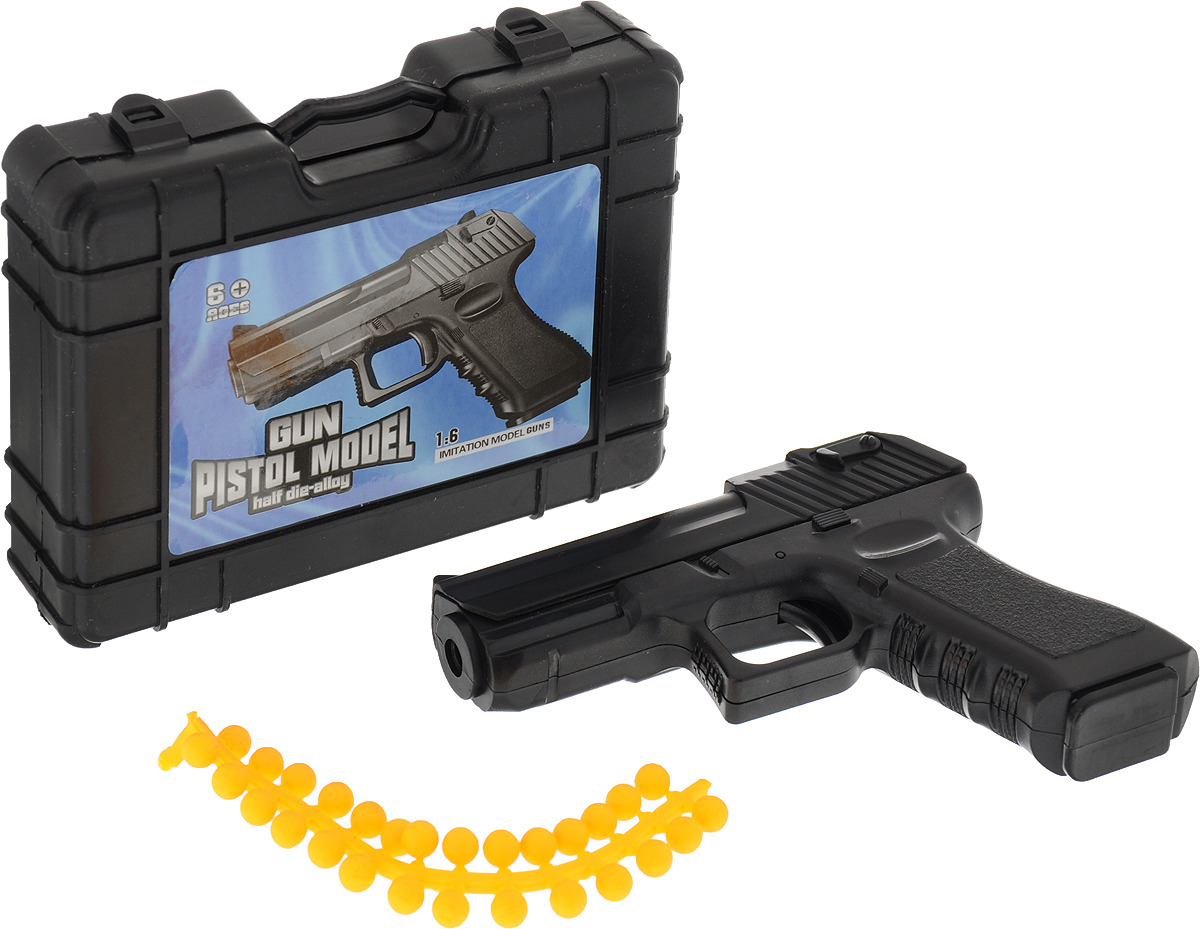 Игрушечное оружие Пистолет пневматический Смит, 2793443 хлопушка пистолет