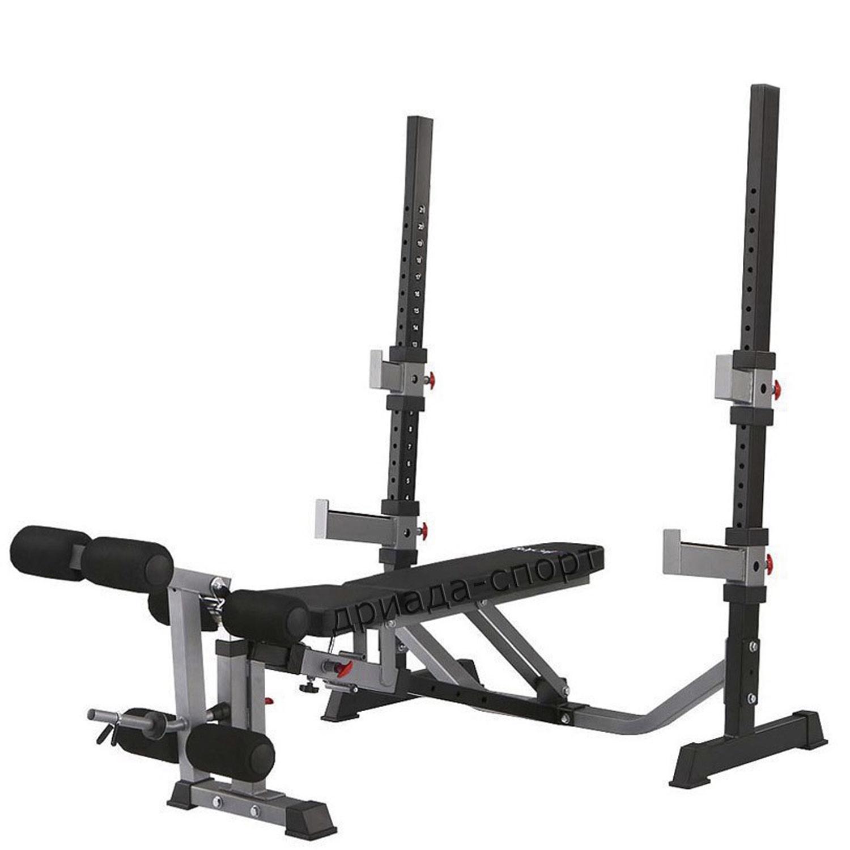 Силовая скамья Body Craft F609, черный