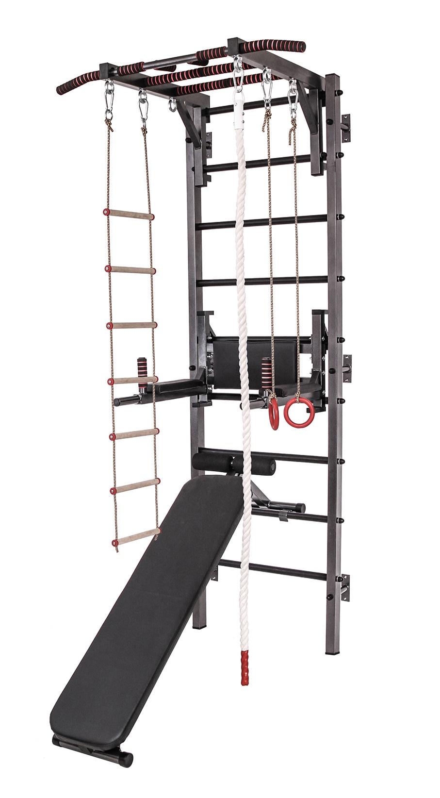 Спортивный комплекс AstaSport 3236 лестница для тренировок torres 4 м перекладины 9 шт из пластика регулируемое расстояние между перекладинами