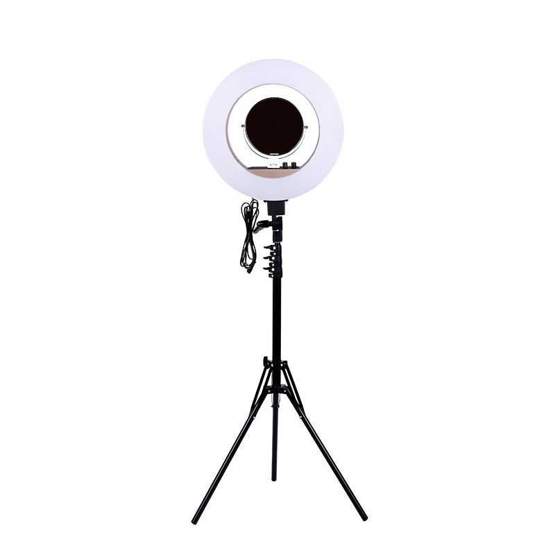 Студийное оборудование Okira Кольцевая лампа LED RING 480 CY 50, черный Okira