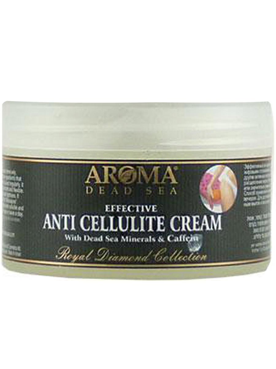 Aroma Dead Sea / Интенсивный антицеллюлитный крем с экстрактом гуараны, маслами, кислотами и минералами Мертвого моря