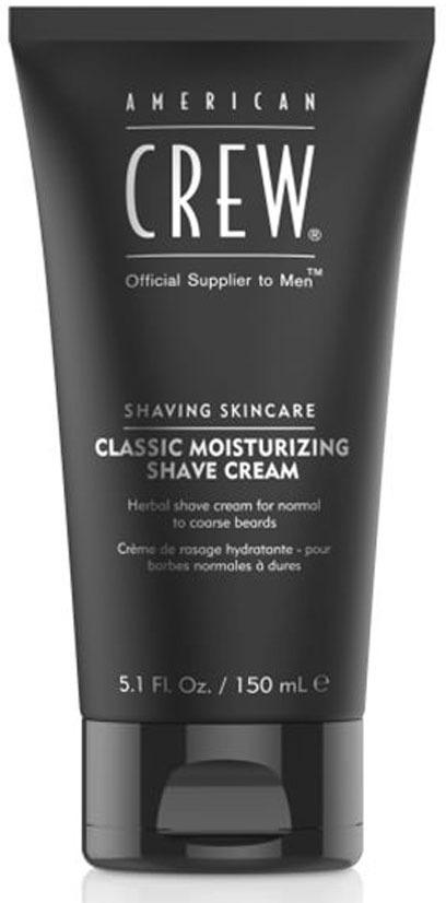 American Crew Крем увлажняющий для бритья Moisturizing Shave Cream 150 мл крем для бритья brews shave cream 150 мл