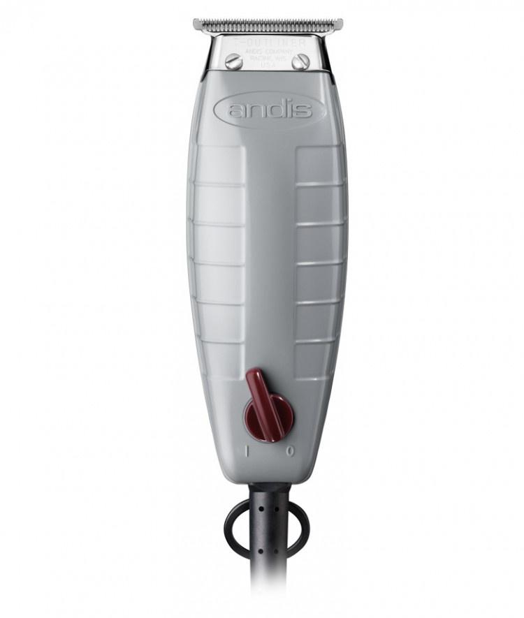 Триммер Andis T-Outliner G-I, серый, белый аккумуляторная окантовочная машинка с т образным ножом t outliner li orl 74005