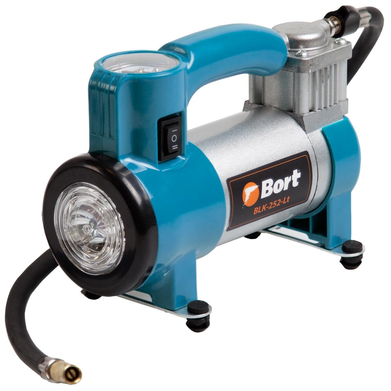 Автомобильный компрессор Bort BLK-252-LT автомобильный компрессор bort blk 350