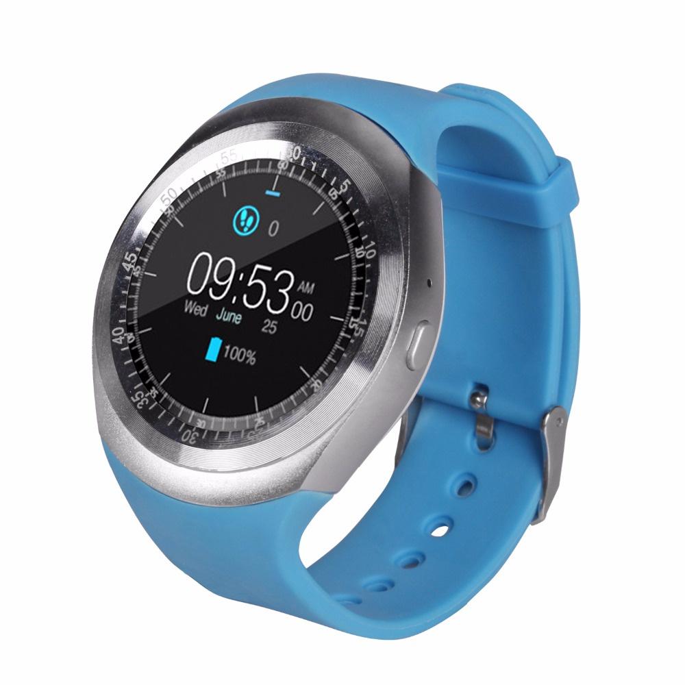 Умные часы No Name Y1, голубой цены